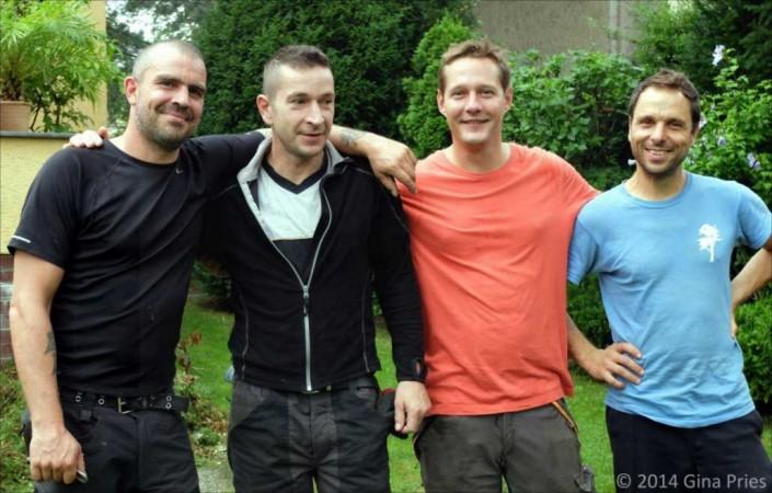 Baumpflegeteam und Meik Skoda – Baumpflege Astrein